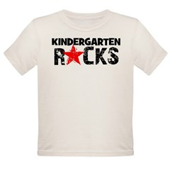 Kindergarten Rocks Organic Toddler T-Shirt