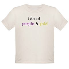 Geaux LSU Organic Toddler T-Shirt