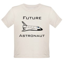 Future Astronau Organic Toddler T-Shirt