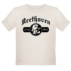 Beethoven Organic Toddler T-Shirt