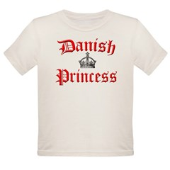Danish Princess Organic Toddler T-Shirt