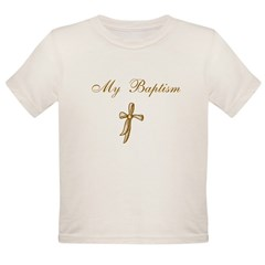 My Baptism Organic Toddler T-Shirt