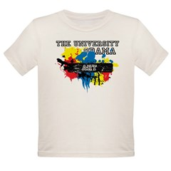 The University of Obama Art D Organic Toddler T-Shirt