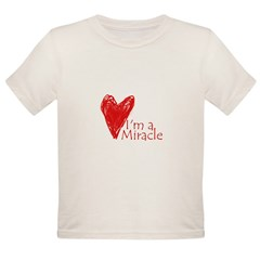 Miracle Baby Organic Toddler T-Shirt