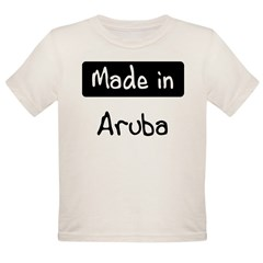 Made in Aruba Organic Toddler T-Shirt