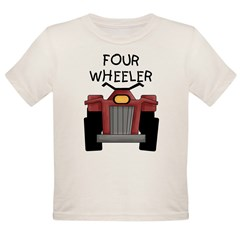 Four Wheeler Organic Toddler T-Shirt