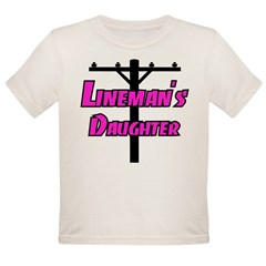 Lineman's daughter Organic Toddler T-Shirt