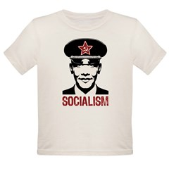 Obama Socialism Organic Toddler T-Shirt