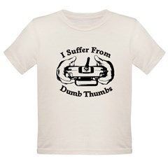 Dumb Thumbs Organic Toddler T-Shirt