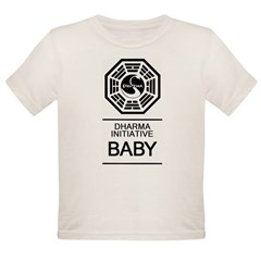 "Dharma Initiative ""Baby"" Organic Toddler T-Shirt"