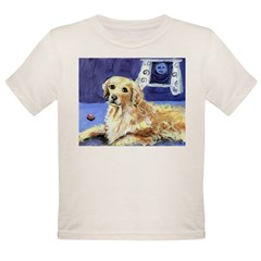 GOLDEN RETRIEVER senses moon Infant Creeper Organic Toddler T-Shirt