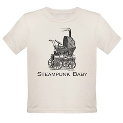 Steampunk baby Organic Toddler T-Shirt