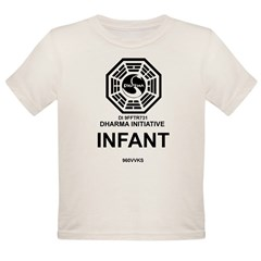 Dharma Initiative Organic Toddler T-Shirt