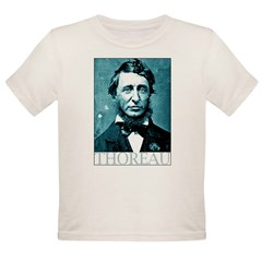 Henry David Thoreau Organic Toddler T-Shirt