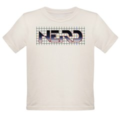TRON Nerd Organic Toddler T-Shirt