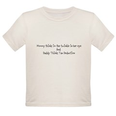 Tax Deduction Organic Toddler T-Shirt