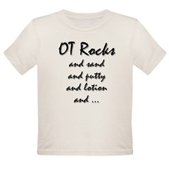 OT Rocks Organic Toddler T-Shirt
