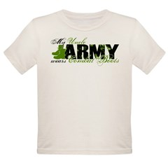 Uncle Combat Boots - ARMY Organic Toddler T-Shirt