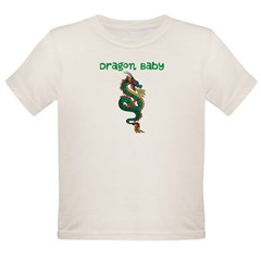 Dragon Baby Organic Toddler T-Shirt