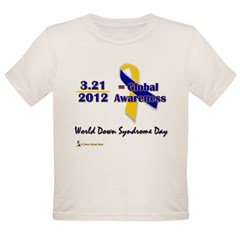 WDSD-2012D Organic Toddler T-Shirt