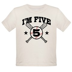 5 Year Old Organic Toddler T-Shirt