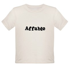 Affable Kids Organic Toddler T-Shirt