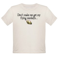 Flying Monkeys Organic Toddler T-Shirt