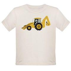 Backhoe Organic Toddler T-Shirt