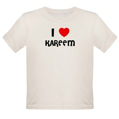 I LOVE KAREEM Infant Creeper Organic Toddler T-Shirt