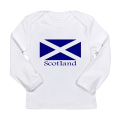 """Scotland"" Long Sleeve Infant T-Shirt"