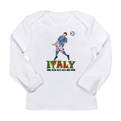 Italy2 Kids Long Sleeve Infant T-Shirt