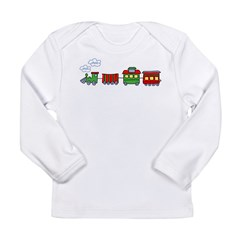 Choo Choo Kids Long Sleeve Infant T-Shirt