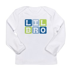 Lil Bro Infant Creeper Long Sleeve Infant T-Shirt