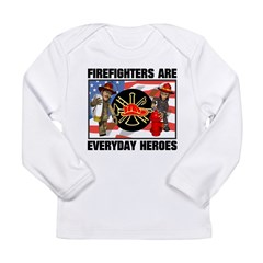 Firefighter Heroes Long Sleeve Infant T-Shirt