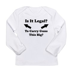Is It Legal? Infant Creeper Long Sleeve Infant T-Shirt