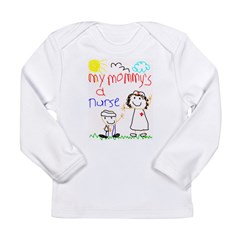 Nurse Mommy! Long Sleeve Infant T-Shirt