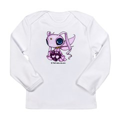 Pink Space Sprite Infant Creeper Long Sleeve Infant T-Shirt