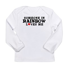 Rainbow: Loves Me Infant Creeper Long Sleeve Infant T-Shirt