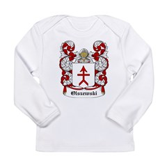 Olszewski Coat of Arms Infant Creeper Long Sleeve Infant T-Shirt