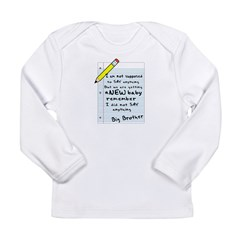 letter Kids Long Sleeve Infant T-Shirt