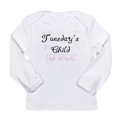 Tuesday's Child Kids Long Sleeve Infant T-Shirt