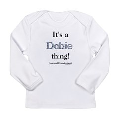 Dobie Thing Long Sleeve Infant T-Shirt