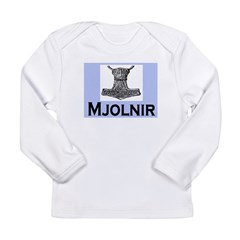 MJOLNIR (THORS HAMMER) Long Sleeve Infant T-Shirt