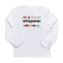 Jelly bean whisperer Long Sleeve Infant T-Shirt
