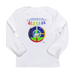 White Buffalo Calf Prophecy Long Sleeve Infant T-Shirt
