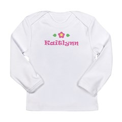 "Pink Daisy - ""Kaitlynn"" Long Sleeve Infant T-Shirt"