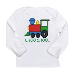 BIBtrain Long Sleeve Infant T-Shirt
