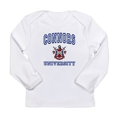 CONNORS University Long Sleeve Infant T-Shirt