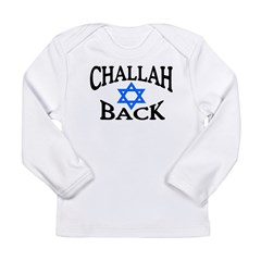 CHALLAH BACK T-SHIRT SHIRT JE Long Sleeve Infant T-Shirt