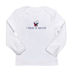 Train- I have a secret- big b Kids Long Sleeve Infant T-Shirt